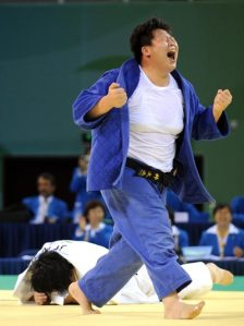 WHo needs a belt in Judo?
