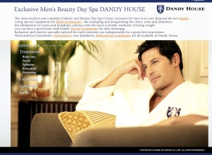 """"""" Hey Guys! After pigging out on Beer and Ball park franks why not drop over to Dandy House for a facial and a liposuction!"""""""